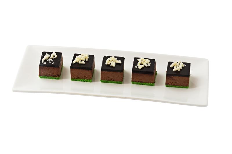 Шоколадно-фисташковый кейк, 20 шт.