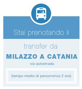 Orari validi dal 1/11 al 31/03 - Transfer Milazzo >Catania