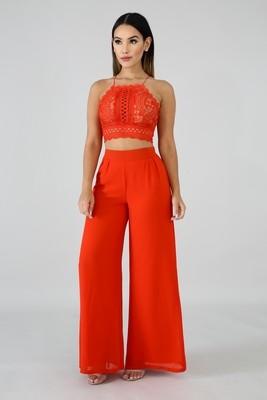 Glamour Girl Pant Set