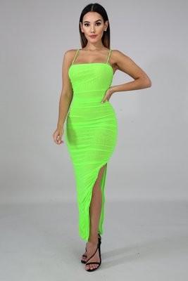 Vigorous Sheer Dress