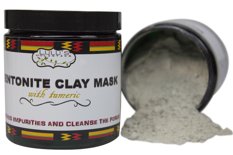 Bentonite Clay Mask With Turmeric