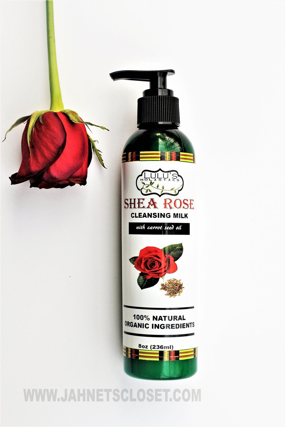 Shea-Rose Face Cleansing Milk (with carrot seed oil)