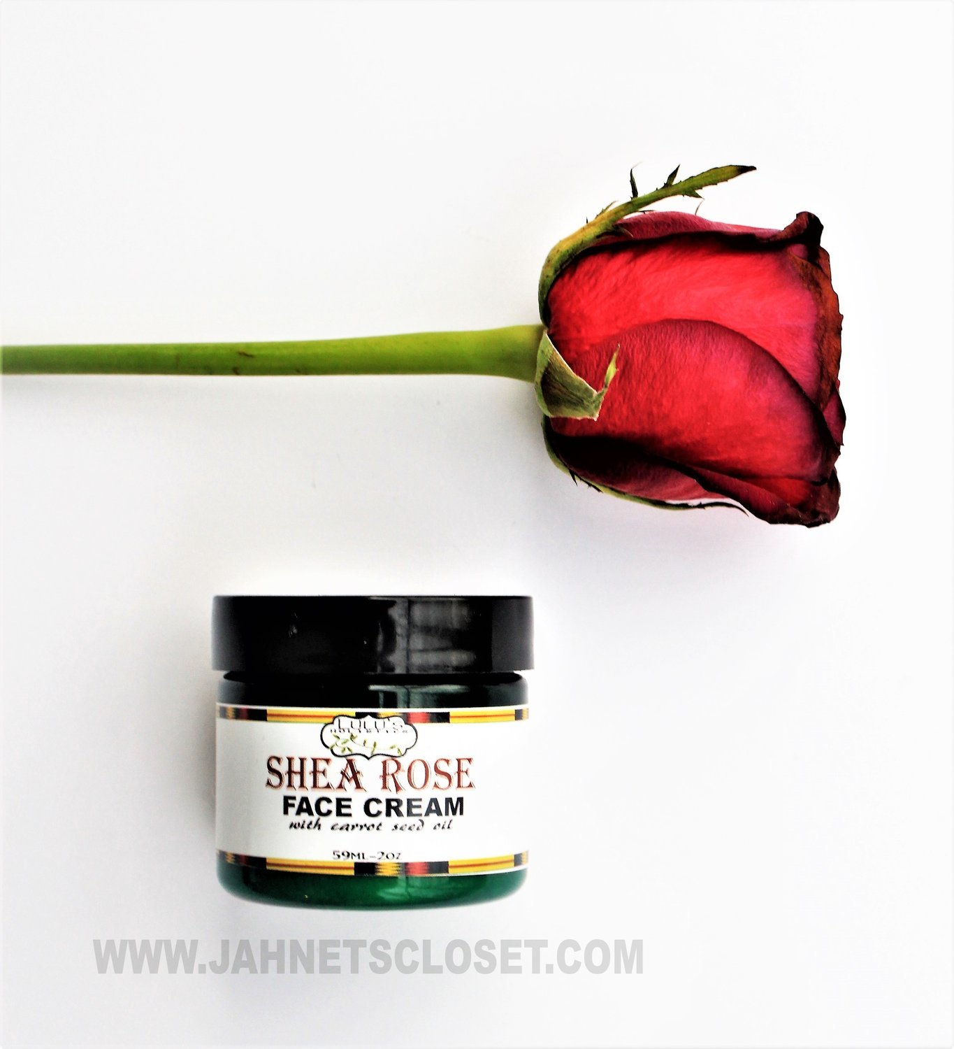 Shea Rose Face cream (with carrot seed oil)