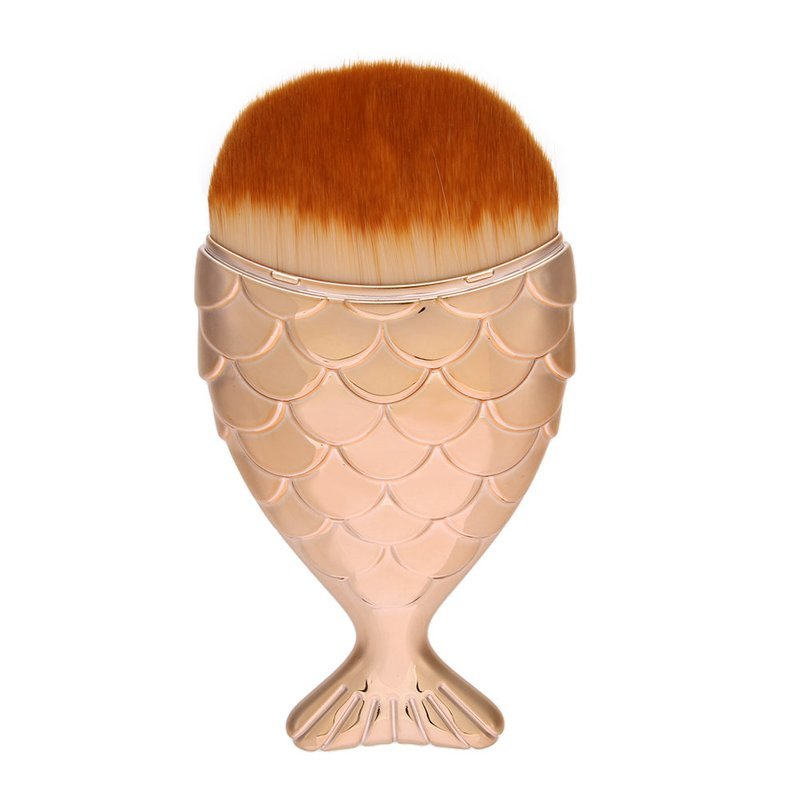GOLD MERMAID FOUNDATION/POWDER BRUSH