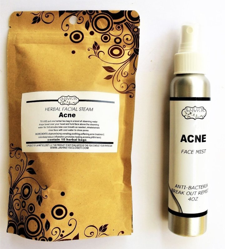 ACNE-FACIAL STEAMS & MIST SET