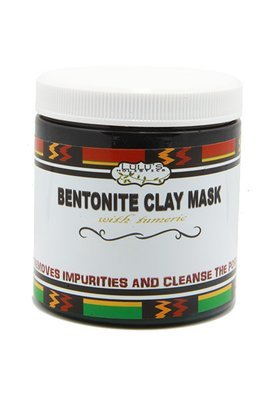 Bentonite Clay Mask With Turmeric