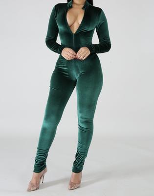 Sensual Velvet Jumpsuit