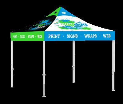 10 X 10 Event Tent - Aluminum