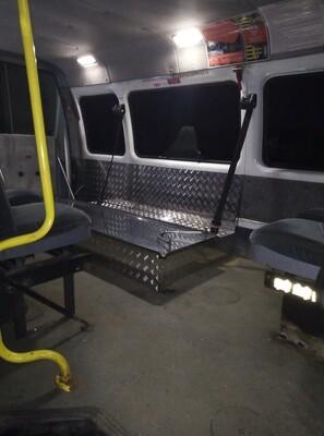 Изготовление и установка подиума на автомобиль Газель Катафалка