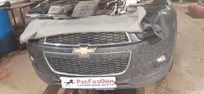 Установка ГБО на Chevrolet Captiva