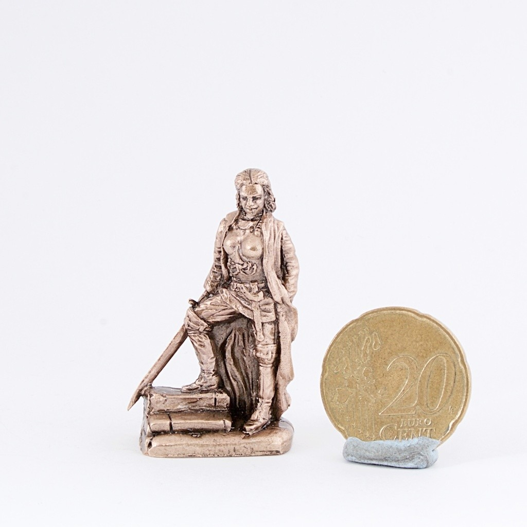 40mm Yara Greyjoy, Game Of Thrones brass miniature