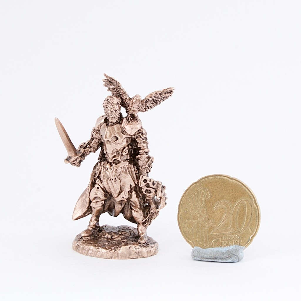 40mm Croaker, The Black Company brass miniature