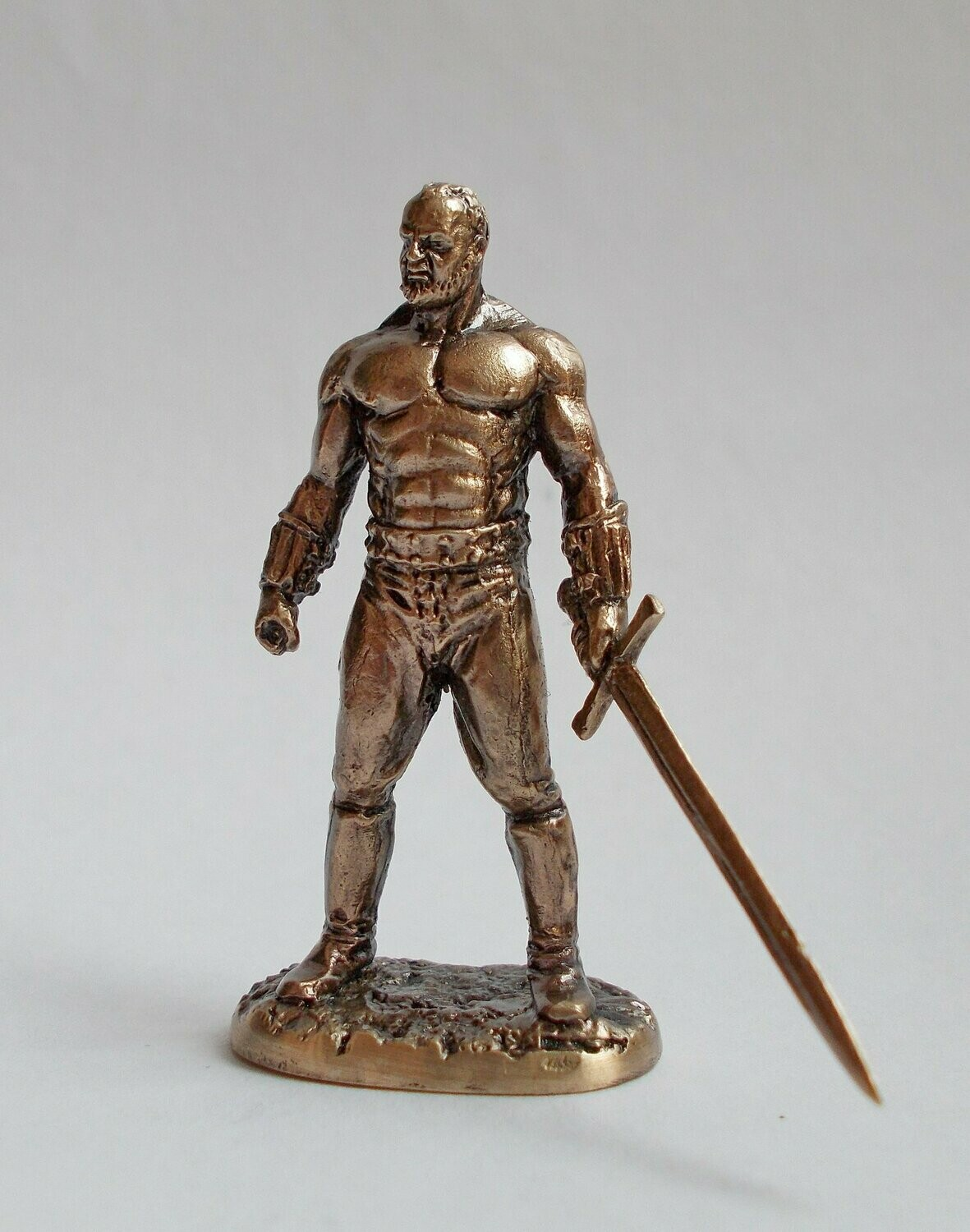 40mm Gregor Clegane, The Mountain, Game Of Thrones brass miniature