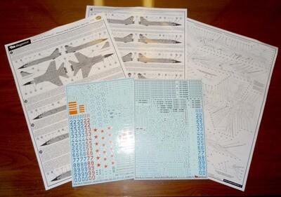 1/72 MiG-31BM + K New life of Foxhound Decal Begemot #72-063
