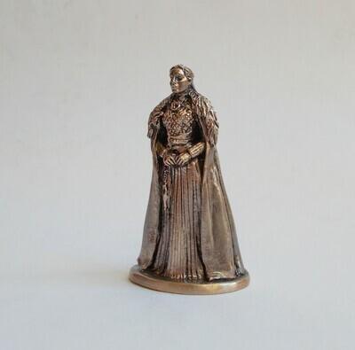 40mm Sansa Stark, Queen of the North, Game Of Thrones brass miniature