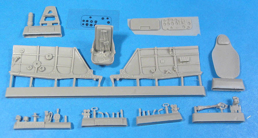 1/48 La-5 Cockpit Set Vector resin for Zvezda: VDS48036