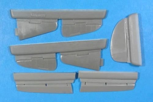 1/48 Yak-7/9 Control Surfaces Vector resin for ICM/Alanger: VDS48028