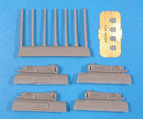 1/48 Browning M2 0.5 Cal Flexible Vector resin: VDS48009