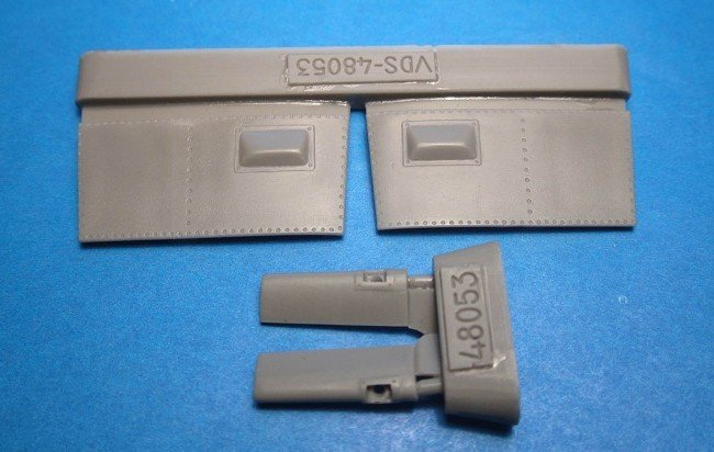 1/48 Bf-109F gun cameras Vector resin for Zvezda kit: VDS48053