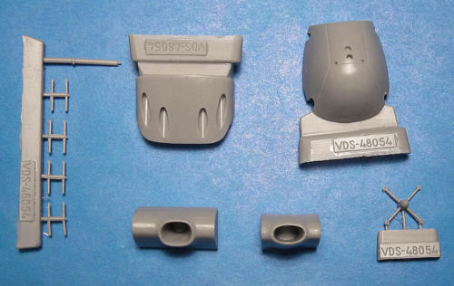 1/48 He-219A-0/5 conversion set, Vector resin for Tamiya: VDS48054