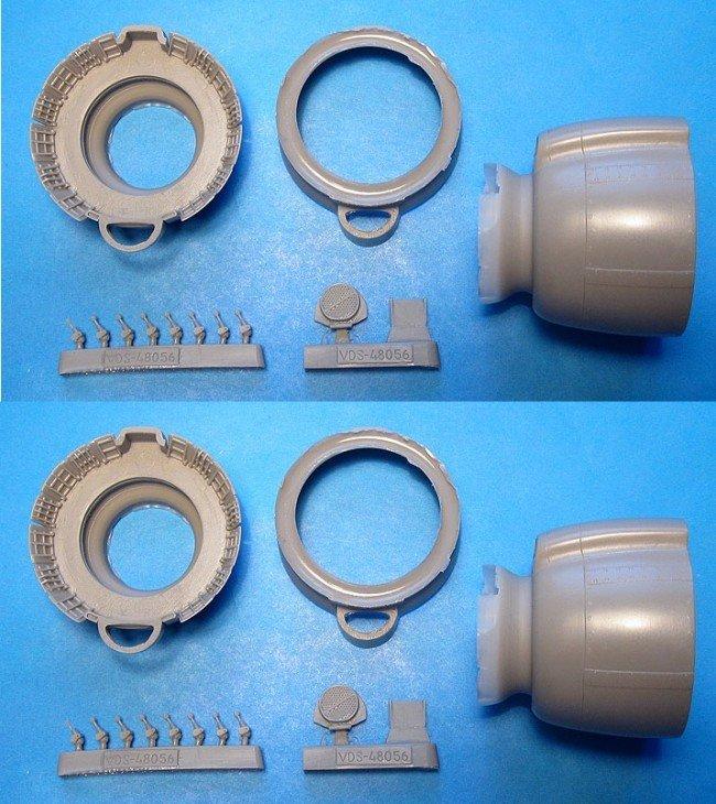 1/48 PV-1 Ventura Cowlings Vector resin for Revell: VDS48056