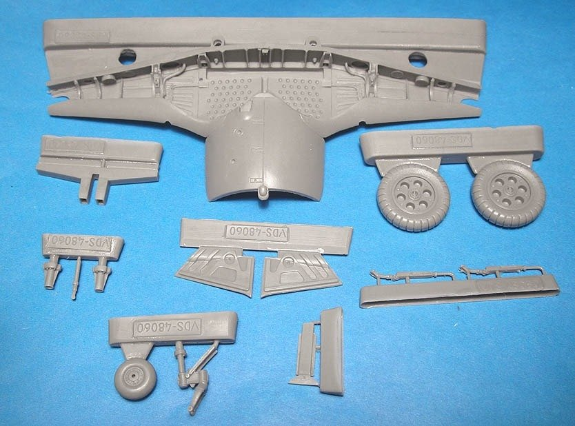 1/48 Fw-190A-3 Wheel Well Set Vector resin for Tamiya: VDS48060