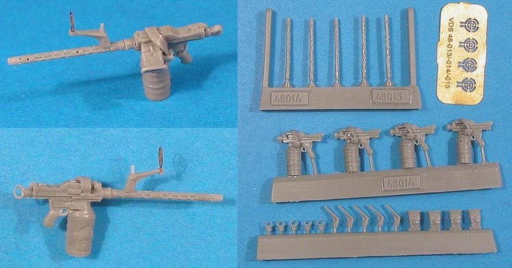 1/48 MG-81 Luftwaffe Machine gun Vector resin: VDS48014