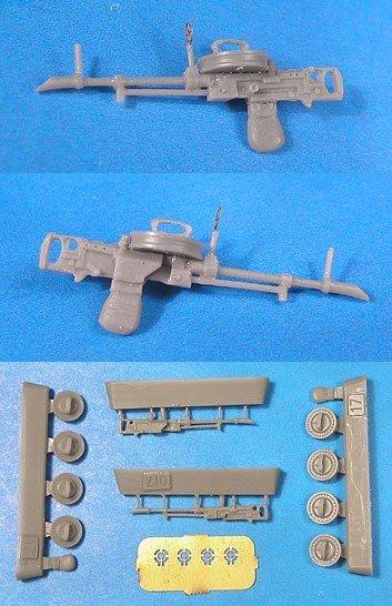 1/48 Vickers-K 7.7mm Machine Guns Vector resin: VDS48017