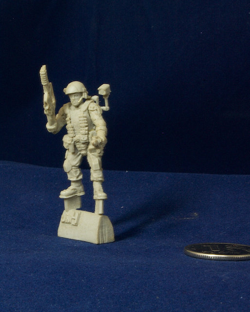 Aliens movie 28mm Colonial Marine miniature UM4