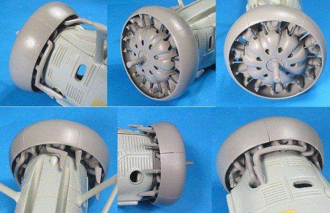 1/32 F4B-4 Detail Set Vector resin for Hasegawa: VDS32005