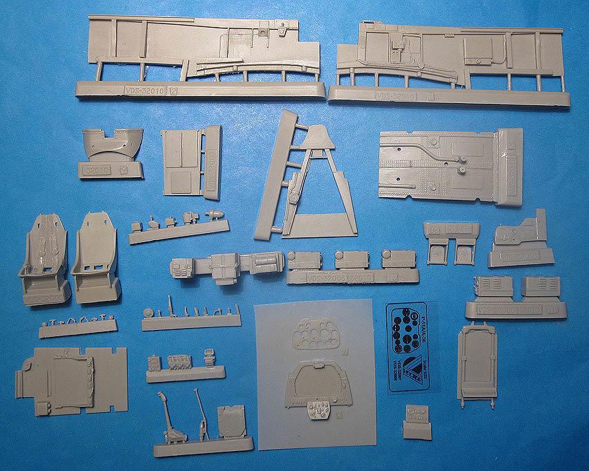 1/32 A-36A Vector Resin for Hobbycraft kit : VDS32010