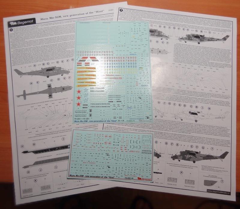 1/72 Mil Mi-35M Decal Begemot