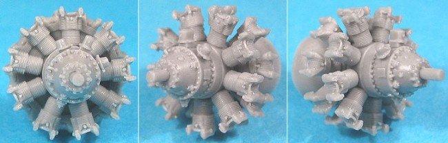 1/72 Pratt & Whitney R-2800 C (late) Engine Vector Resin #72-006 VEC72006