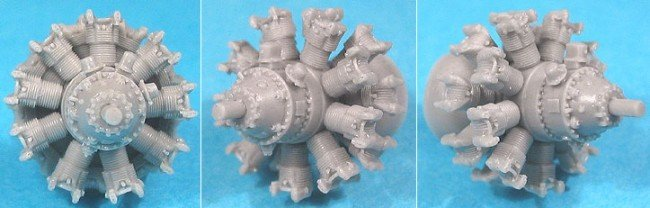 1/72 Pratt & Whitney R-2800 C (late) Engine Vector Resin #72-006
