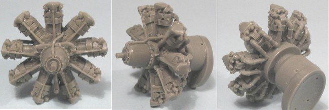 1/48 Bristol Mercury Engine Vector Resin #48-001