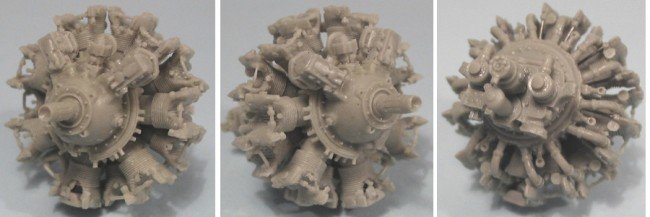 1/48 Pratt & Whitney R-1830-86 Engine Vector Resin #48-007