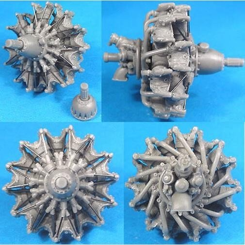 1/48 Gnome-Rhone GR-14K/N M-85/87/88 Engine Vector Resin #48-029