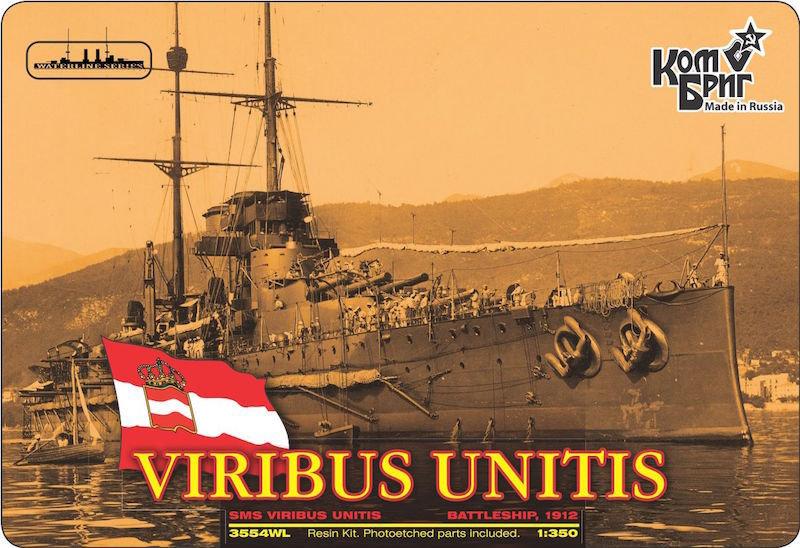 Combrig 1/350 Battleship SMS Viribus Unitis, 1912, resin kit #3554WL