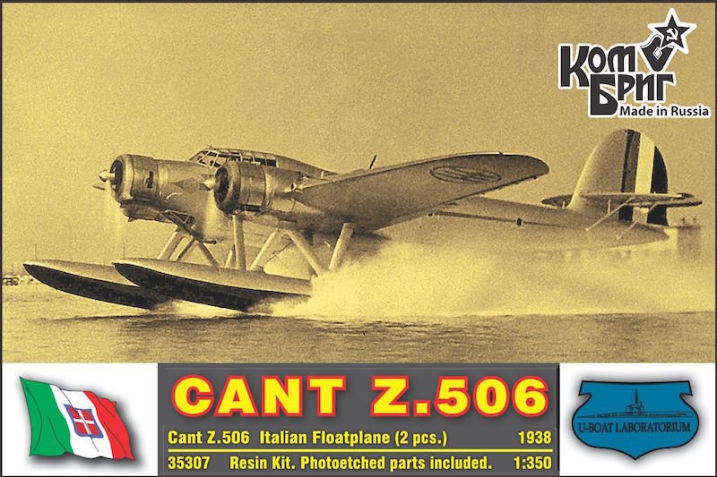 Combrig 1/350 CANT Z.506, resin kit #A35307