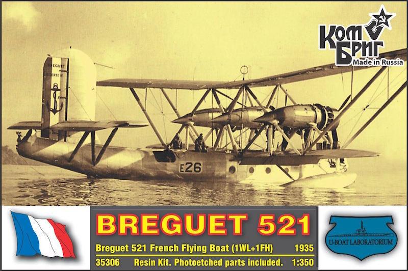 Combrig 1/350 Breguet Br.521 Bizerte, resin kit #A35306