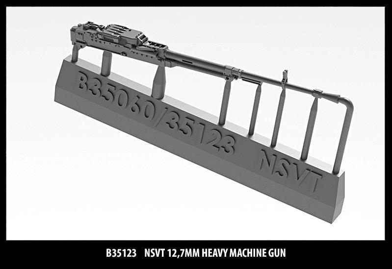 Miniarm 1/35 NSVT 12,7mm Heavy machine gun