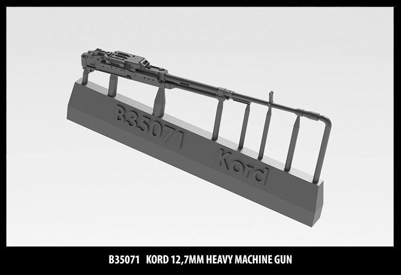 Miniarm 1/35 Kord 12,7mm heavy machine gun