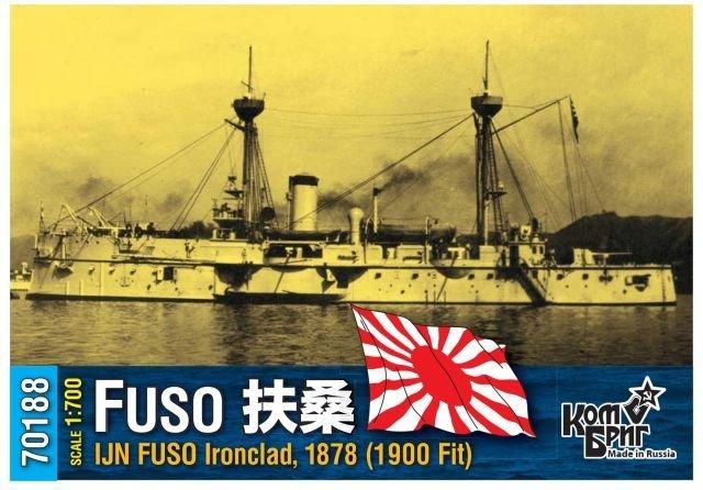 Combrig 1/700 Battleship IJN Fuso, Japan, 1900 fit, resin kit #70188