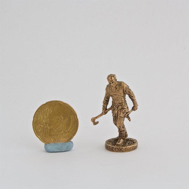 40mm Floki, Vikings brass metal miniature