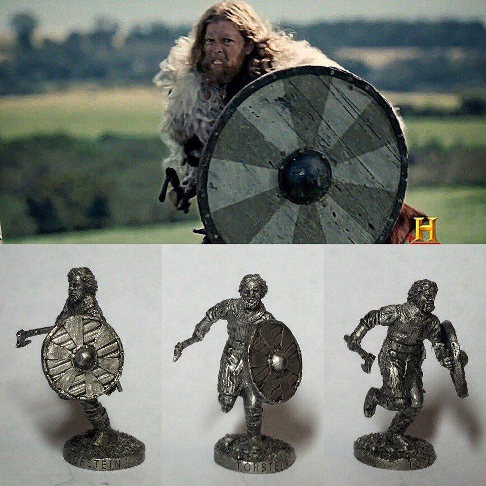 40mm Torstein, Vikings metal miniature