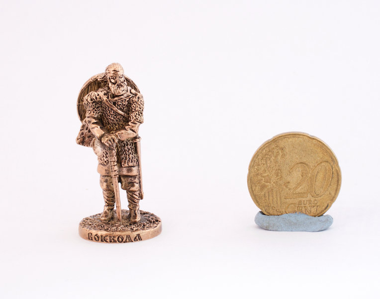 40mm Viking Warlord brass metal miniature