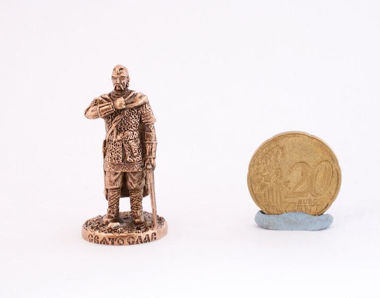 40mm Viking Konung brass metal miniature
