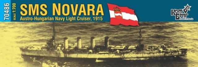 Combrig 1/700 Light Cruiser SMS Novara, Austro-Hungary, 1915, resin kit #70486