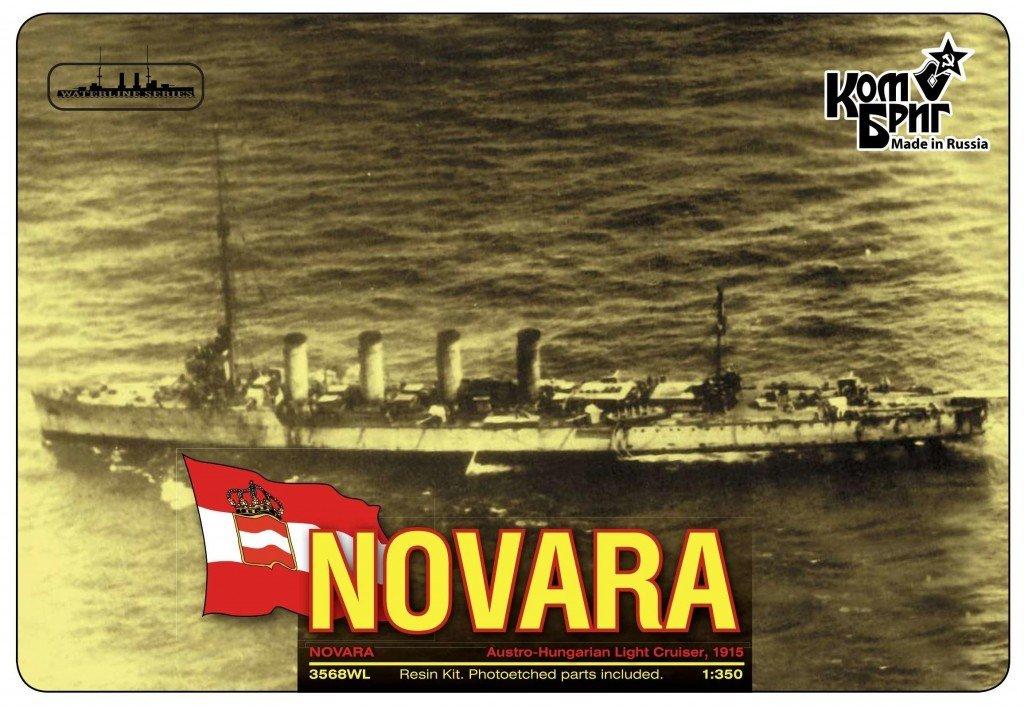 Combrig 1/350 SMS Novara Cruiser waterline, 1915 resin kit #3568WL