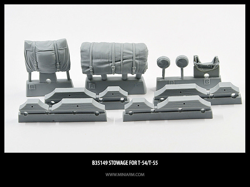 Miniarm 1/35 Stowage for T-54, T-55 #B35149